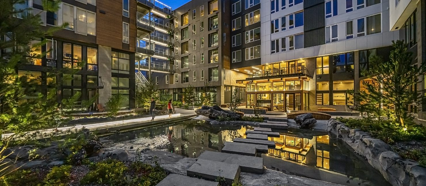Sitka Courtyard
