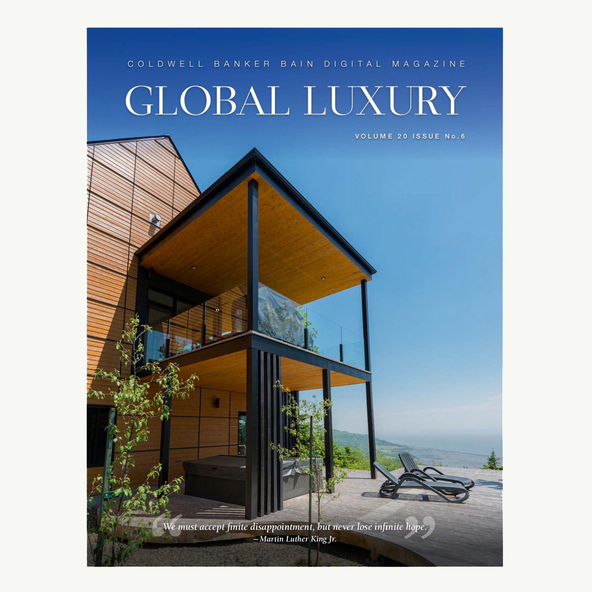 Global Luxury Magazine cover