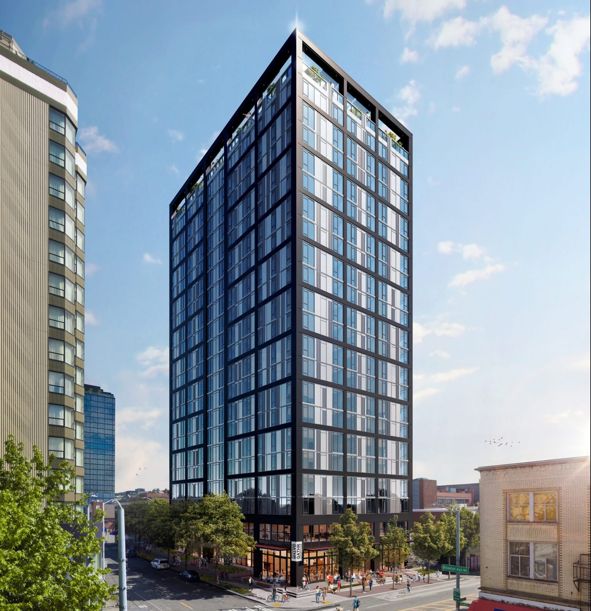 1300 NE 45th Street tower rendering