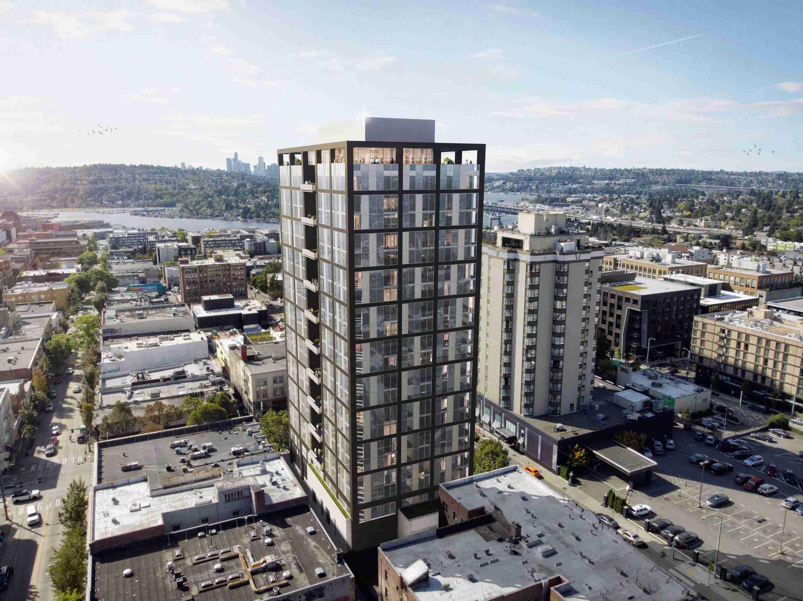 1300 NE 45th Street tower rendering