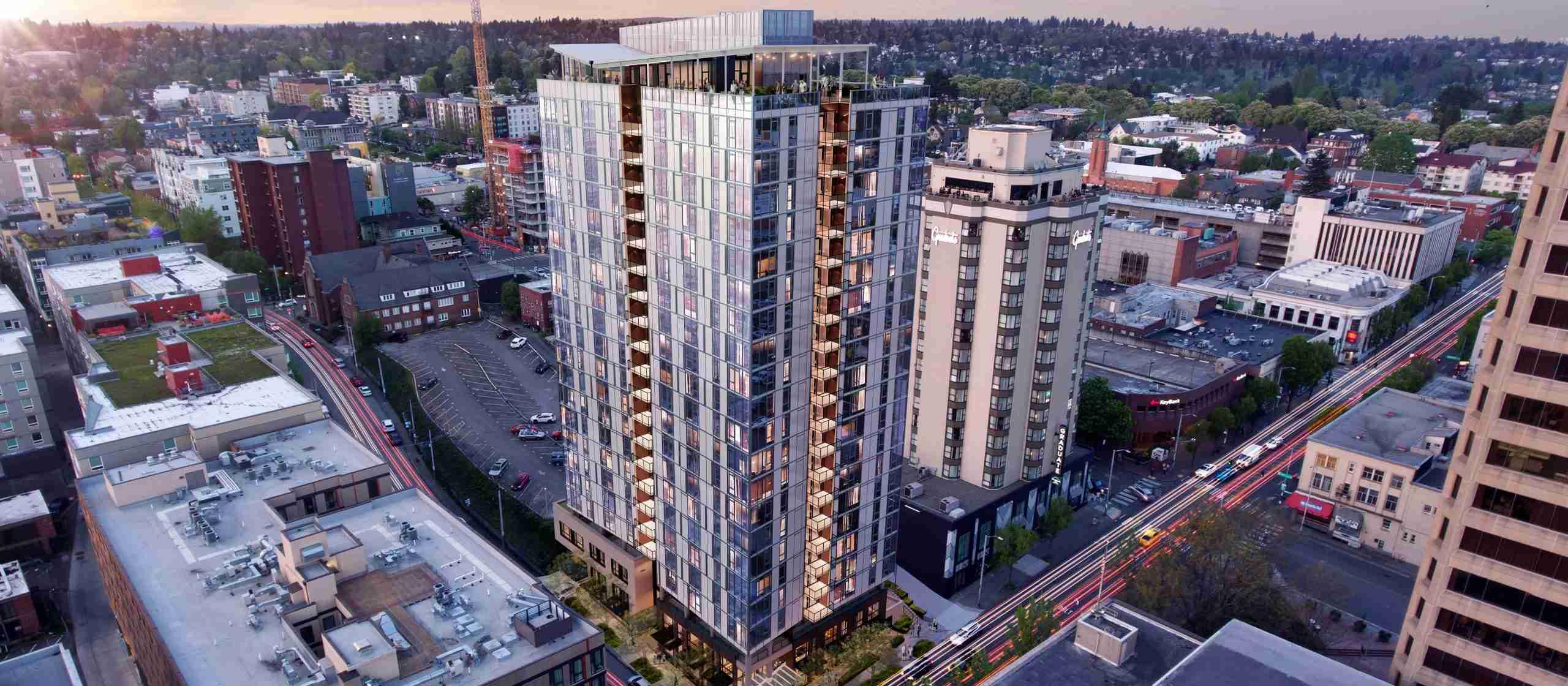 1200 NE 45th Street Tower Rendering